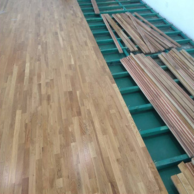 Oak Hardwood Indoor Basketball Court Floor Squash Flooring