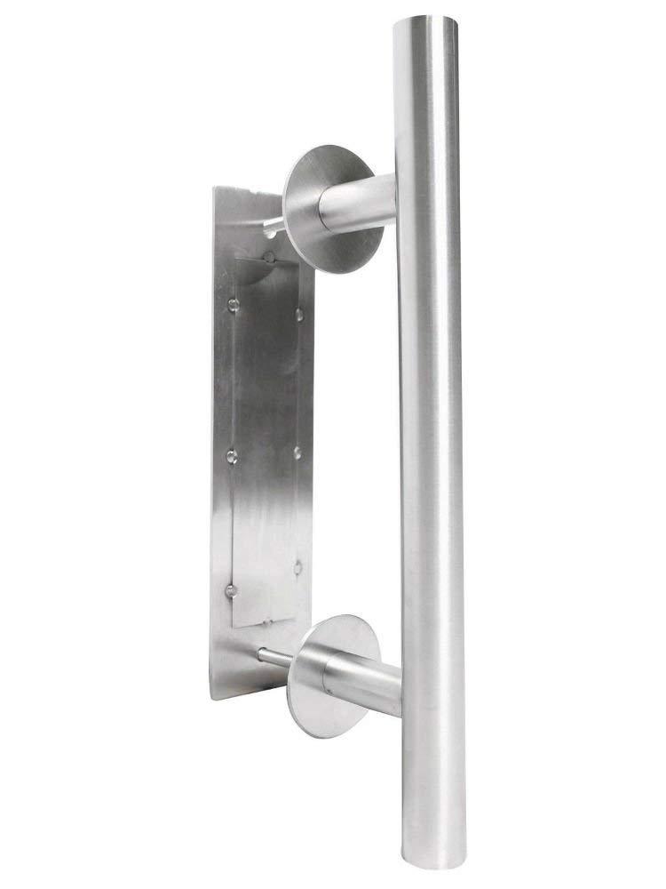 Stainless Steel Wooden Barn Sliding Door Flush Pull & Handle Hardware Set Parts