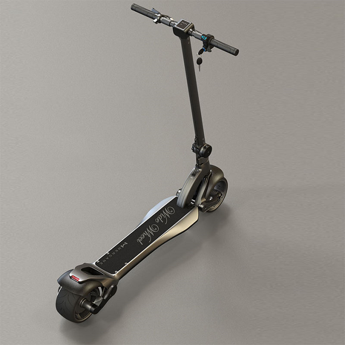 1000w Power Dual Motors Wide Wheel Foldable Electric Kick Scooter for Adult