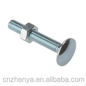m4 square head bolts,square bolts from jiagnsu zhenya