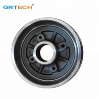 DB4159 top quality disc brake drum for peugeot 206