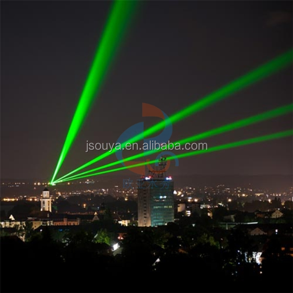 20W green high power landmark laser light for outdoor advertising and 30W lighting projects