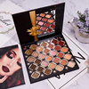 28 Color Vegan Mineral Eye Shadow Makeup Matte Shimmer Cosmetic Glitter Private Label Eyeshadow Palette