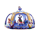 Exciting princess luxurious carousel park rides small carousel ride carousel kiddie rides for sale