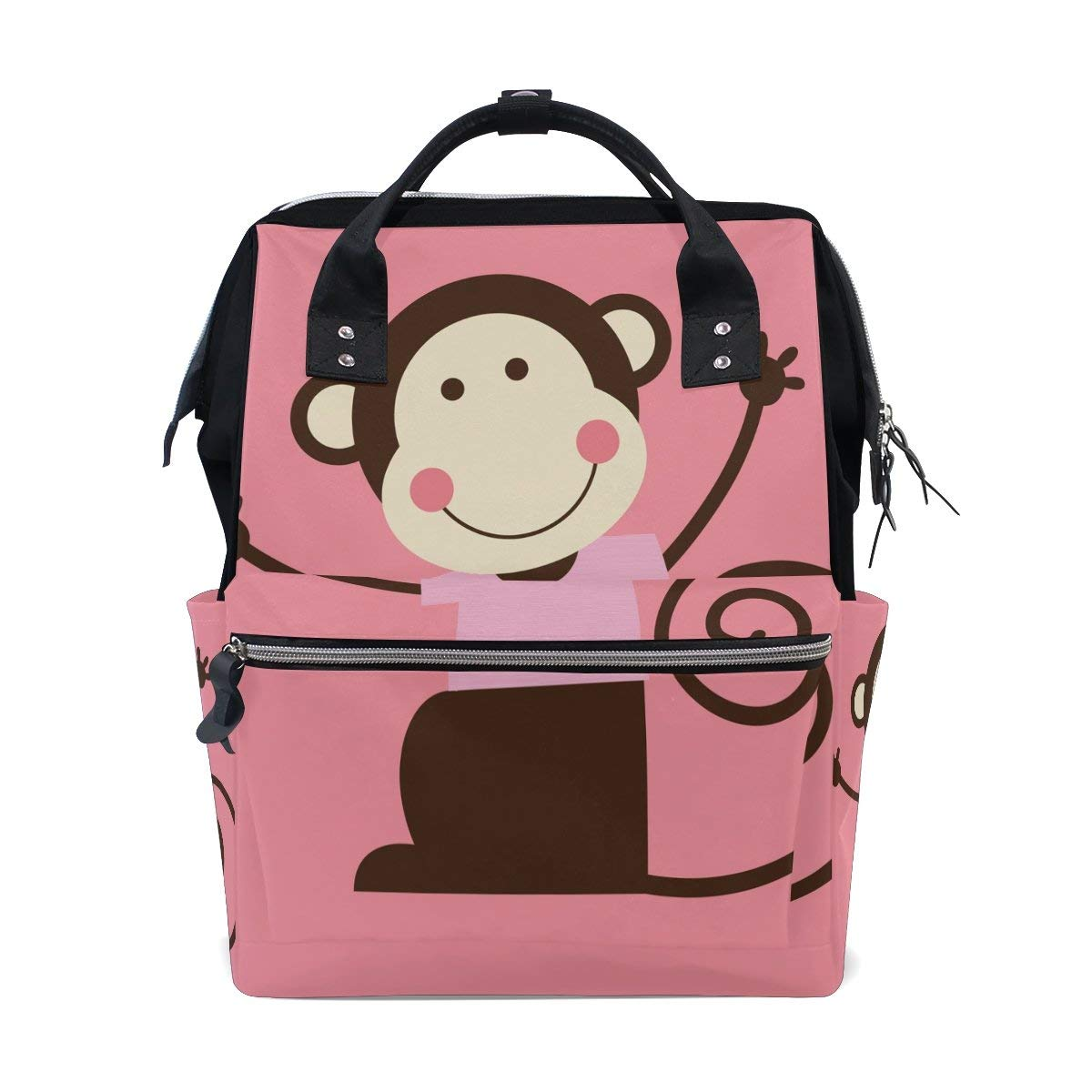 4eb50cff89be Get Quotations · Diaper Bags Backpack Purse Mummy Backpack Fashion Mummy  Maternity Nappy Bag Cool Cute Travel Backpack Laptop