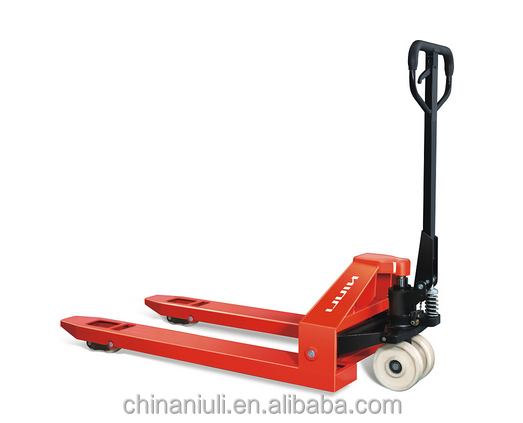 (NIULI) China Hot Sale AC 5.0T hand pallet truck/5000kg hand pallet jack with CE and ISO Certificate