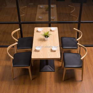 hotel chair restaurant furniture Wooden dining table chairs