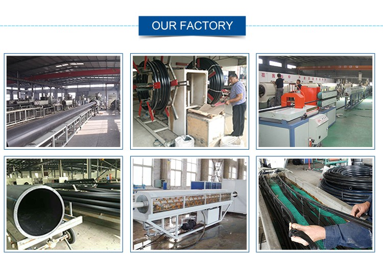 Factory customization all size and type square white plastic pipe