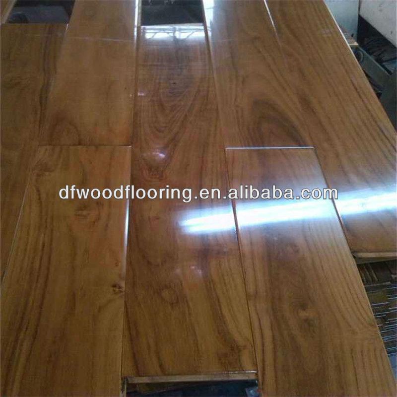 높은 광택 자연 중국어 티크 단단한 나무 바닥-목재 바닥재 -상품 ...