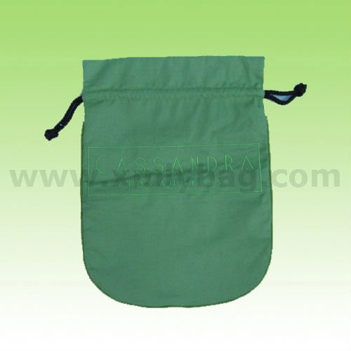 Promotional Round Bottom Drawstring Cotton Dust Bag