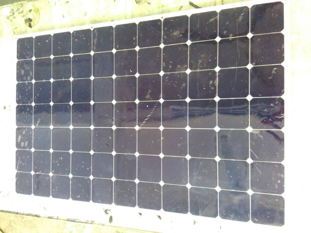 Pannello Solare Semiflessibile : Alta efficienza w celle solari sunpower semi