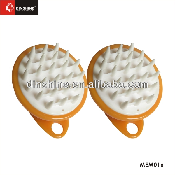 China high quality plastic & silicon massage brush