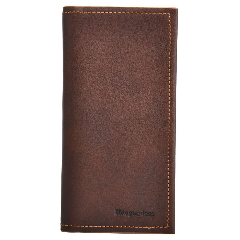 2017 Latest Alibaba China Men's Real Leather Wallet for Men
