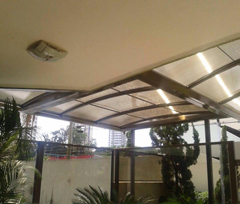 Window Awnings Door Canopy Lexan Polycarbonate Awning Shelter Sheets