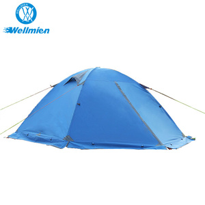 180T Polyester Fabric 210D Oxford Cloth Hiking Outdoor Tents Waterproof Camping Tent