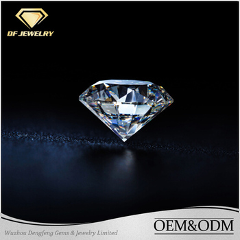Wholesale top quality loose diamond for fashion jewelry engagement ring moissanite diamond