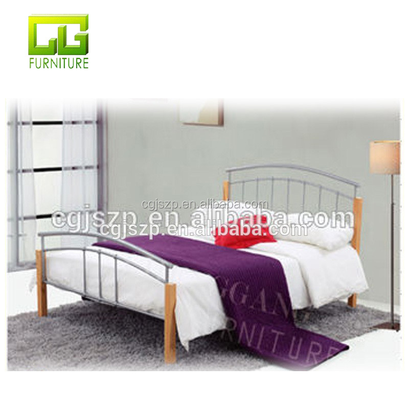 Metal Double Bed With Powder Coated Wholesale, Bed Suppliers - Alibaba