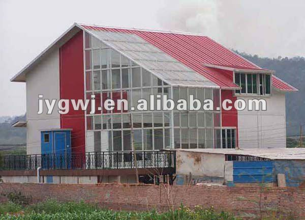 China panel sandwich casa prefabricada de bajo costo con - Casas de panel sandwich ...