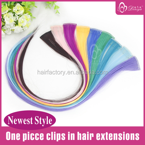 Deniya Highlight Color Single Clip Hair Extension