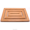 FB7-4003 full bamboo floor mat shower mat Bamboo Bath Accessories