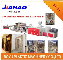 Artificial Marble sheet production line/extrusion line,PVC Sheet production of wall panel
