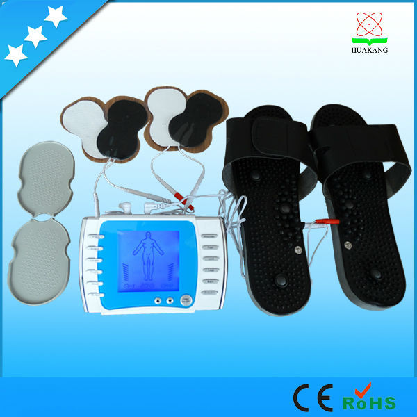 2 output health care product/acupuncture electrical stimulation machine with voice