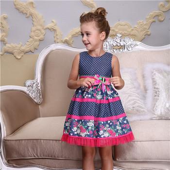 d8732d1b61e 2016 Bonnybilly Summer New Model Girl Dress Children Dress