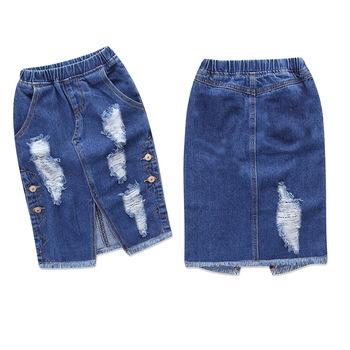 sélection premium 4c846 c7137 Amazon Enfants Vêtements Endommagés Western Filles Jupe En Jean Pour  Enfants - Buy Jupe En Jean,Vêtements Abîmés,Jupe Fille Product on  Alibaba.com
