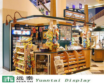 Modern Kiosk Display For Snack Shop Decoration - Buy Modern Kiosk ...