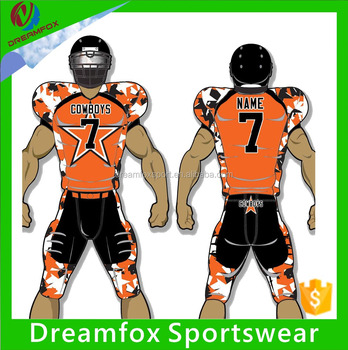 ce0bdc59b wholesale customized blank sublimation american football jerseys custom  American football uniform for sales