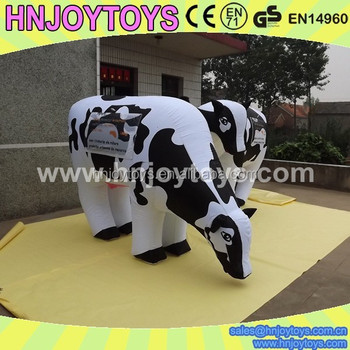 Custom Advertising Inflatable Cow Milka,Giant Inflatable ...