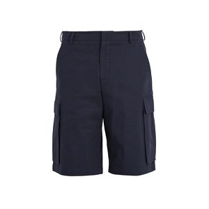 OEM custom summer navy Cotton drill men shorts cargo wide leg trousers