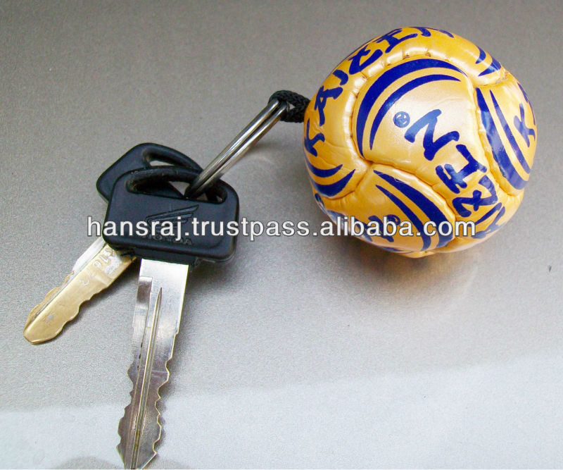 Soccer Ball Mini Key Ring