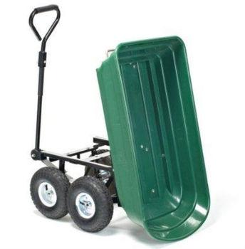 Folding Garden Cart Wagon/Dump Garden Trolley/Plastic Garden Toolds  Wheelbarrow
