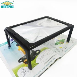 Hands Free A4 Full Page Large Tablet Screen Reading Magnifier 3X Foldable Magnifying Glass Lens
