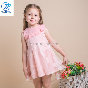 2018 Summer Lace Chilren Frocks Designs For Baby Girls Party Dress