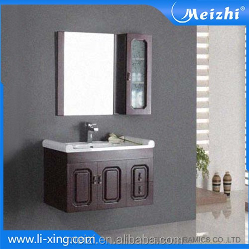 Simple solid wall hung modern classic furniture cabinet design