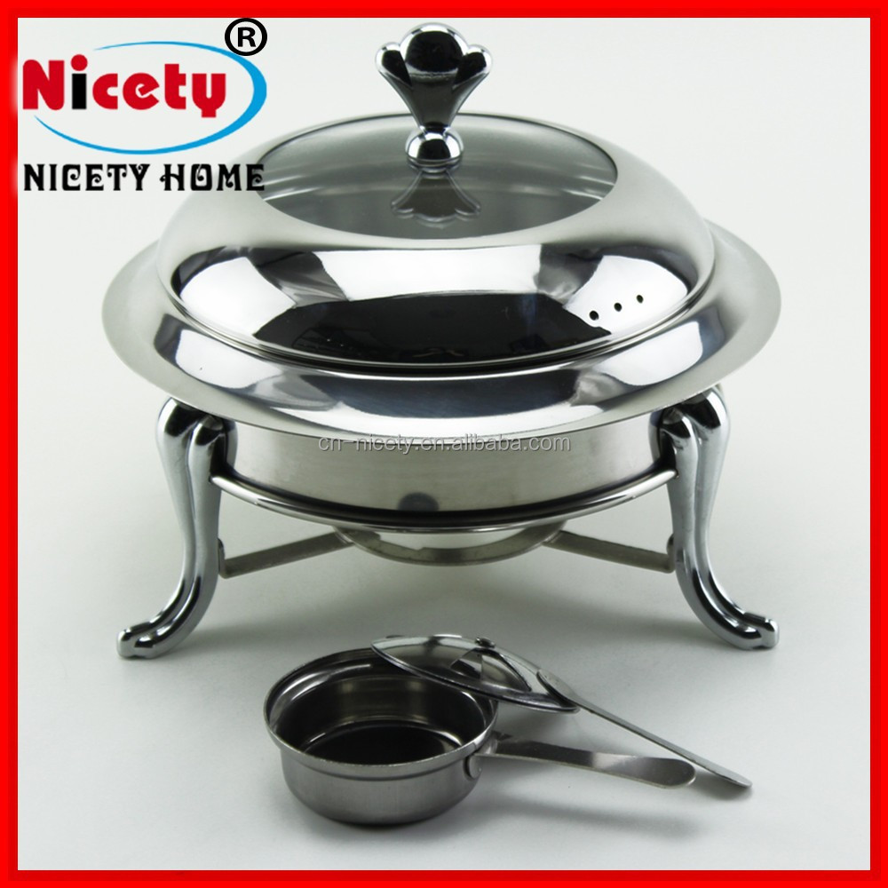 luxury candle stainless steel chafing dishes