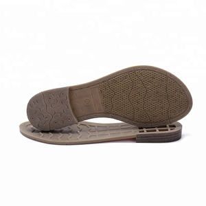 Shoe Manufacturer Design Woman Sandal Tpr Shoe Sole