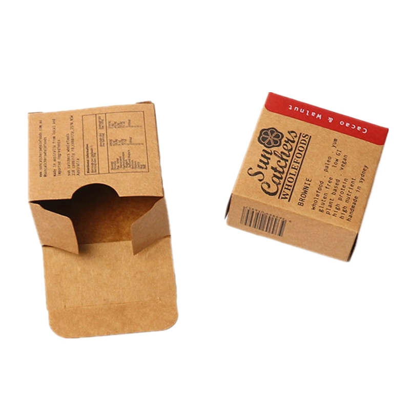 JiaYuan Custom Small Brown Kraft Box Packaging