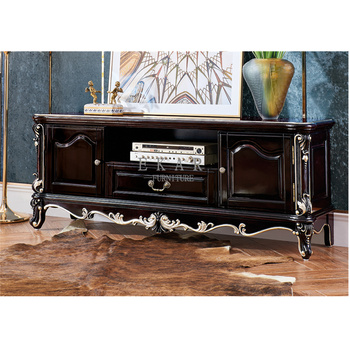 Wood Furniture Clic Living Room Luxury Tv Stand