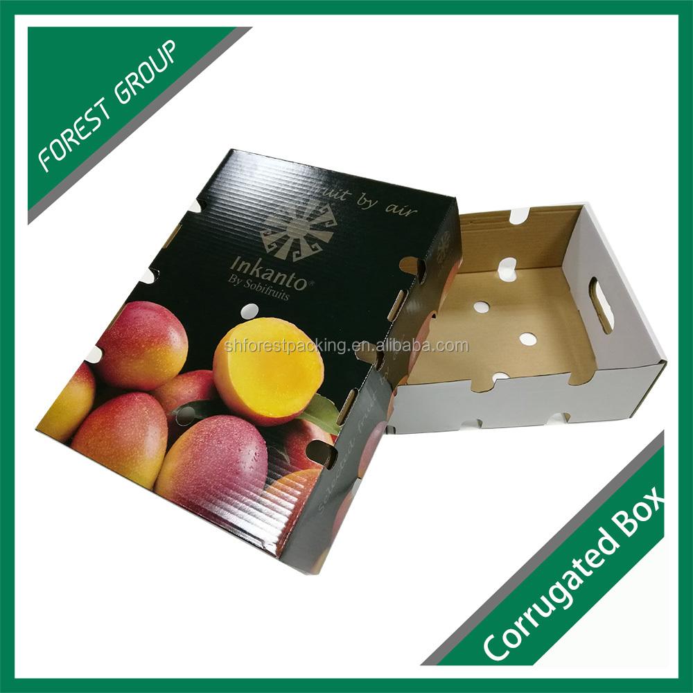 fuerte calidad ecolgico por encargo caja de cartn para frutas