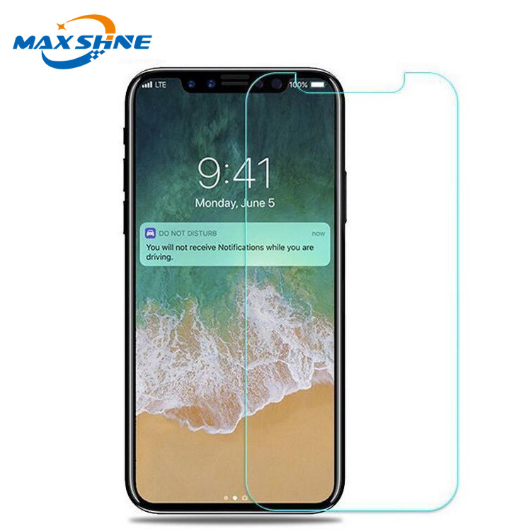 Maxshine Ultra thin waterproof tempered glass screen protector film roll for iphone xr xs max