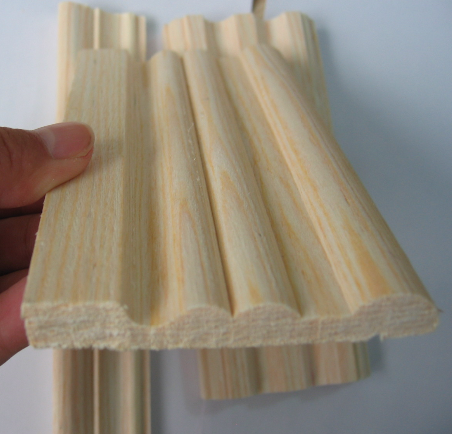 Factory Supplier white wood moulding for construction