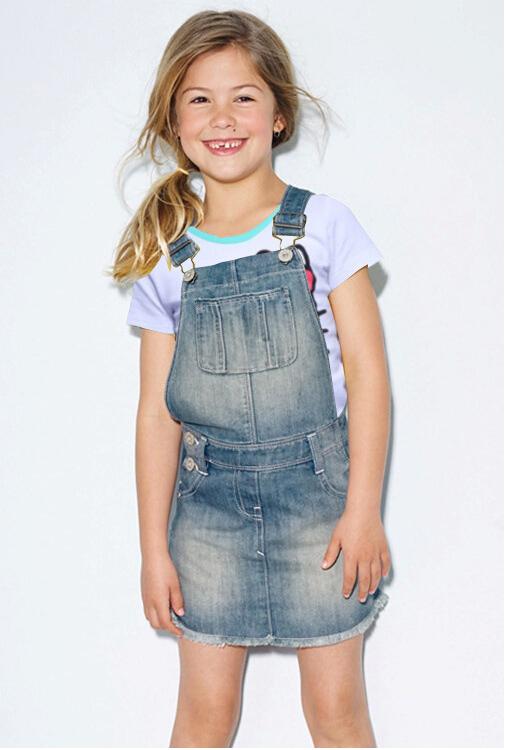 Get Quotations Free Shipping 2015 Summer Baby Girl Lovely Short T Shirt Overalls Denim Skirt Two