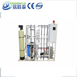 3T/H Automatic Pretreatment+RO Water Treatment Plant