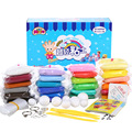 24colors DIY Soft Polymer Modelling Clay set with tools Air dried good package Blocks Special Toys