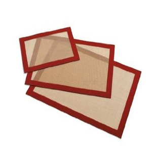 Set of 3 Baking Mats Liners Baking Pad LFGB,FDA,SGS Certification silicone rubber baking oven mat