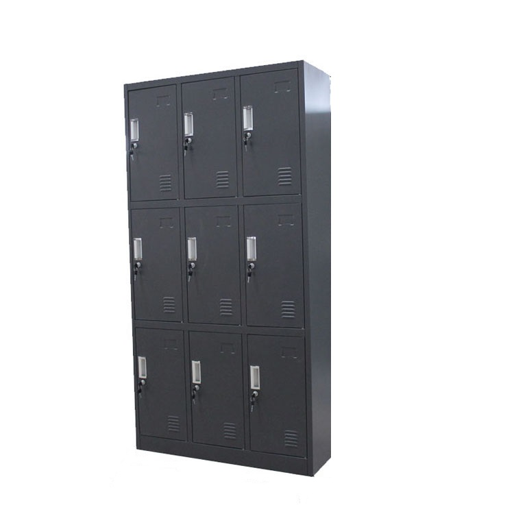 Clothes And Luggage Locker School Office Luggage Metal Kd Design Double Door Coin Operate Steel Storage Chinese Display Cabinet