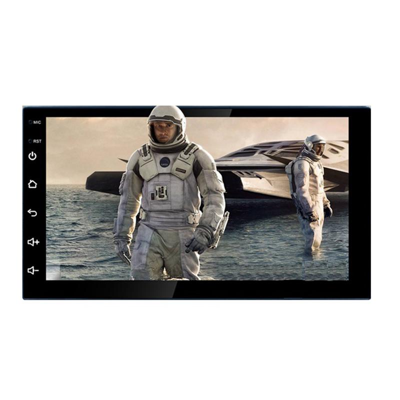 10 дюймов 1 + 16G 1din BT автомобильный DVD плеер Android автомобильный Hi-Fi аудио система GPS